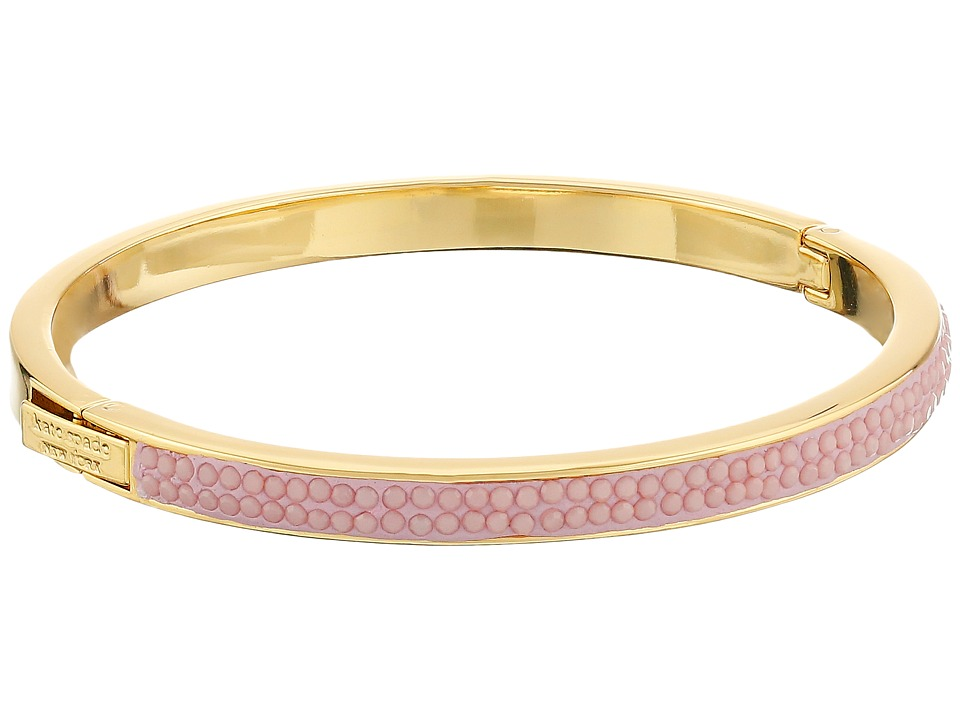 Kate Spade New York - Pave the Way Hinge Bangle (Rosy Dawn) Bracelet