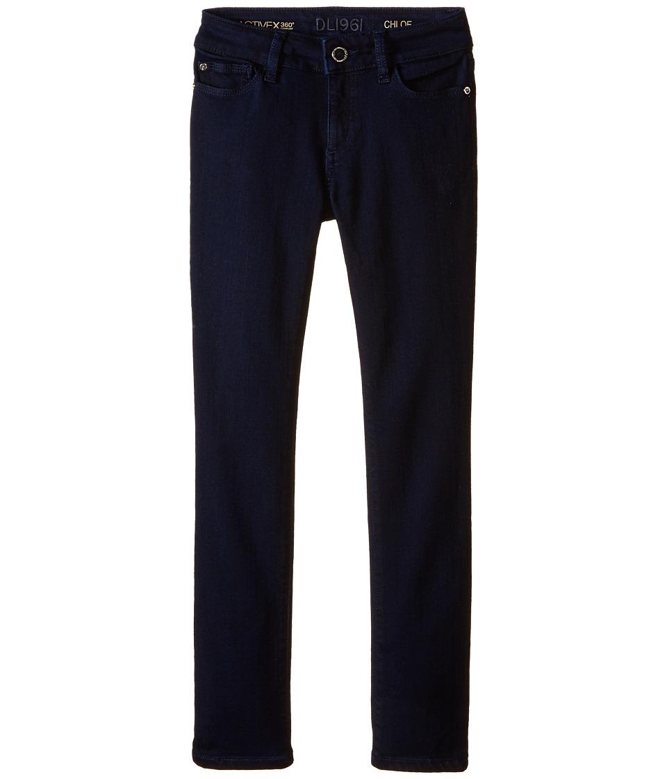 DL1961 Kids - Chloe Skinny Jeans in Flatiron (Big Kids) (Flatiron) Girl's Jeans