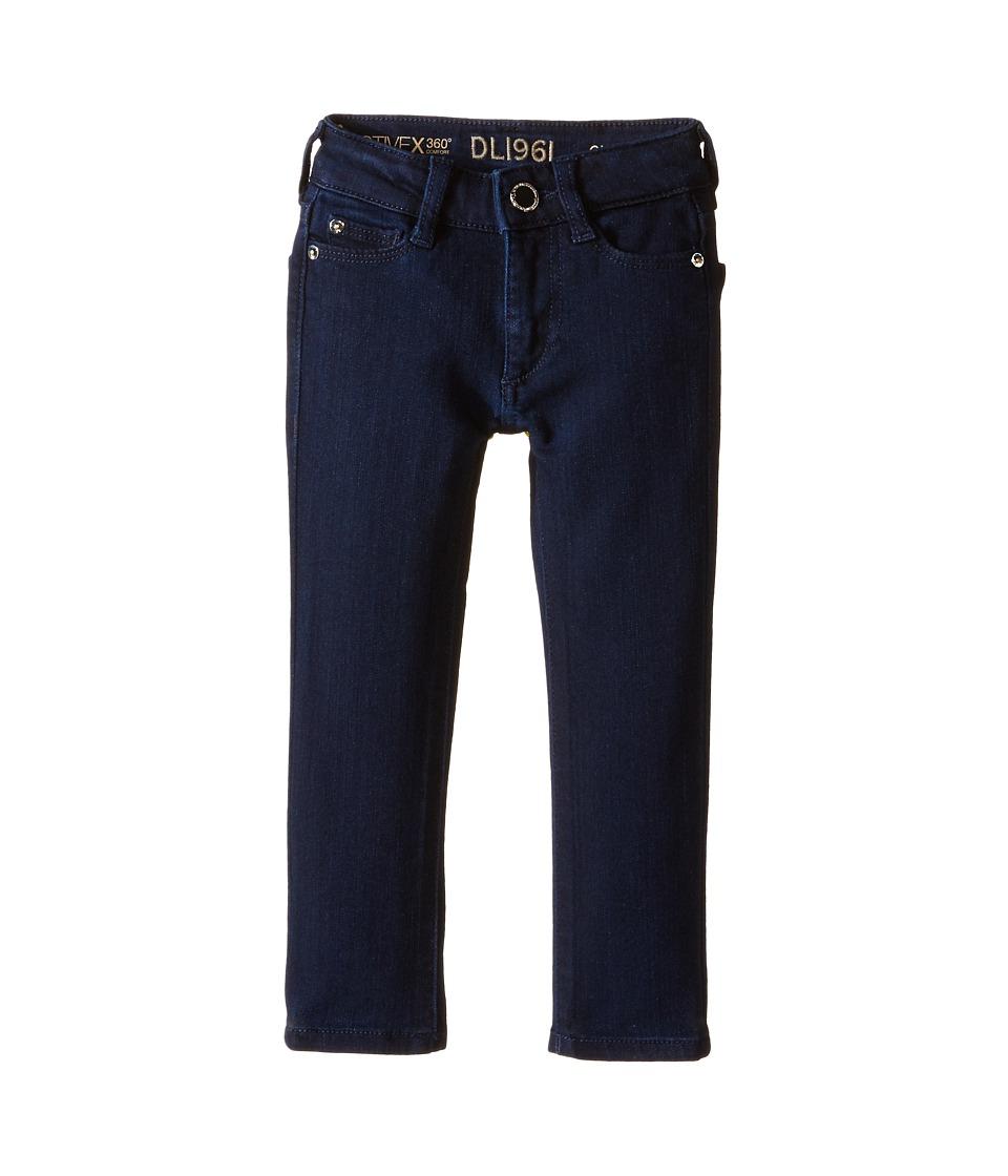 DL1961 Kids - Chloe Skinny Jeans in Flatiron (Toddler/Little Kids) (Flatiron) Girl's Jeans