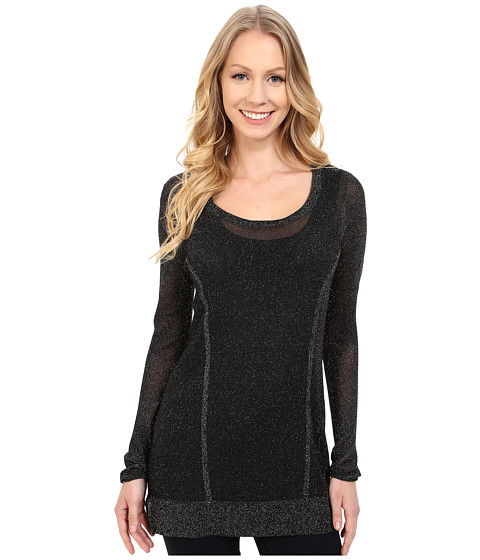 Lysse - Sparkle Sweater (Black) Women's Sweater
