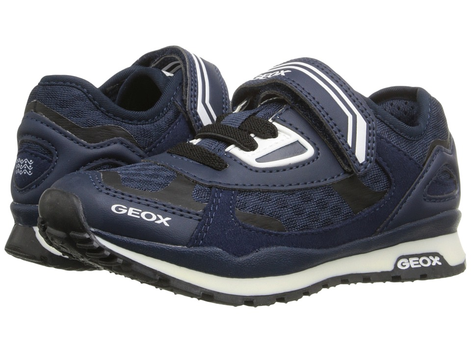 Geox Kids - Jr Pavel 11 (Toddler/Little Kid) (Navy) Boy's Shoes