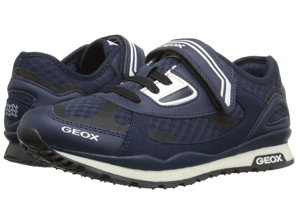 Geox Kids - Jr Pavel 11 (Big Kid) (Navy) Boy's Shoes
