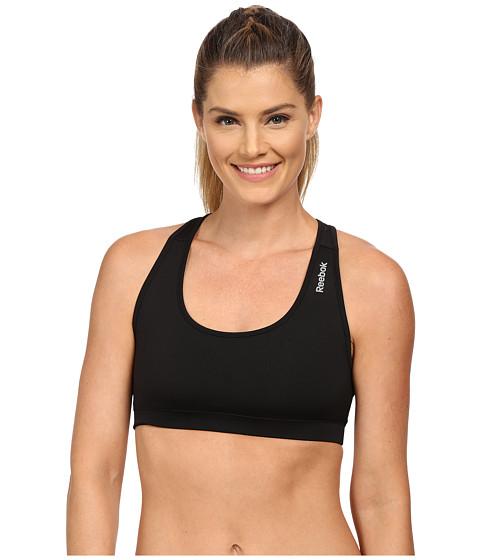 Reebok - Sport Bra (Black/Black) Women's Bra