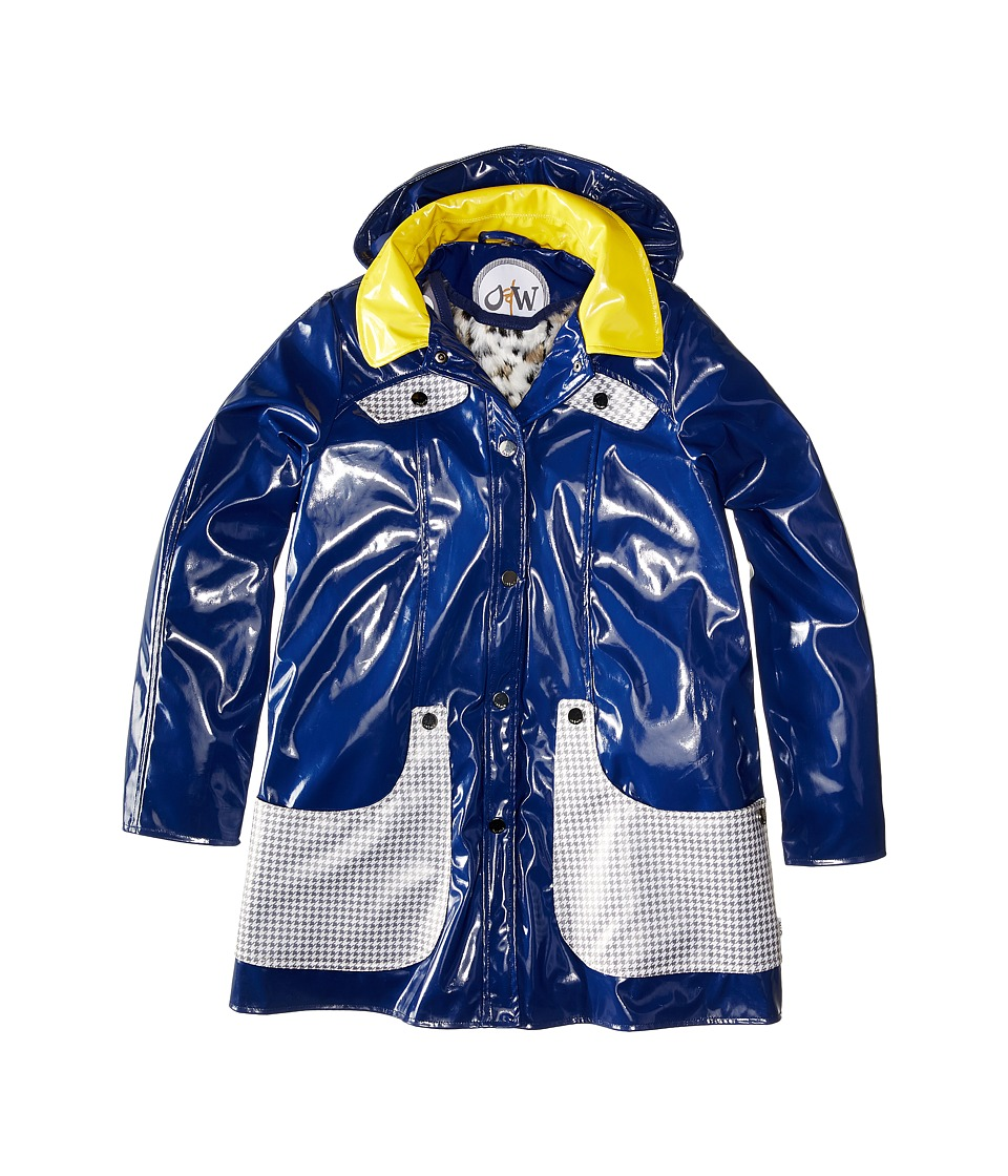 Oil & Water - Eloise Coat (Toddler/Little Kids/Big Kids) (Navy/Hdsth) Girl's Coat