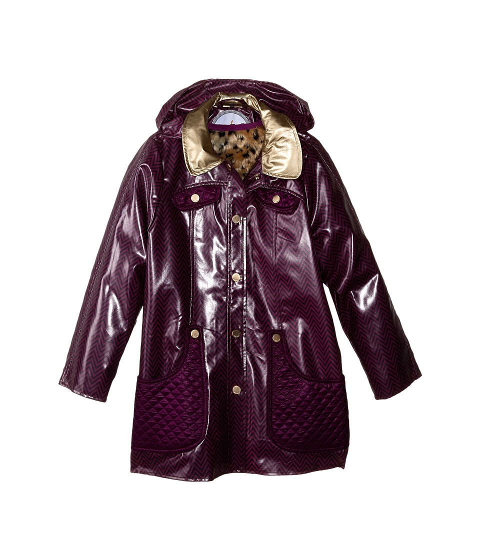 Oil & Water - Eloise Coat (Toddler/Little Kids/Big Kids) (Gloxinia/Plat) Girl's Coat