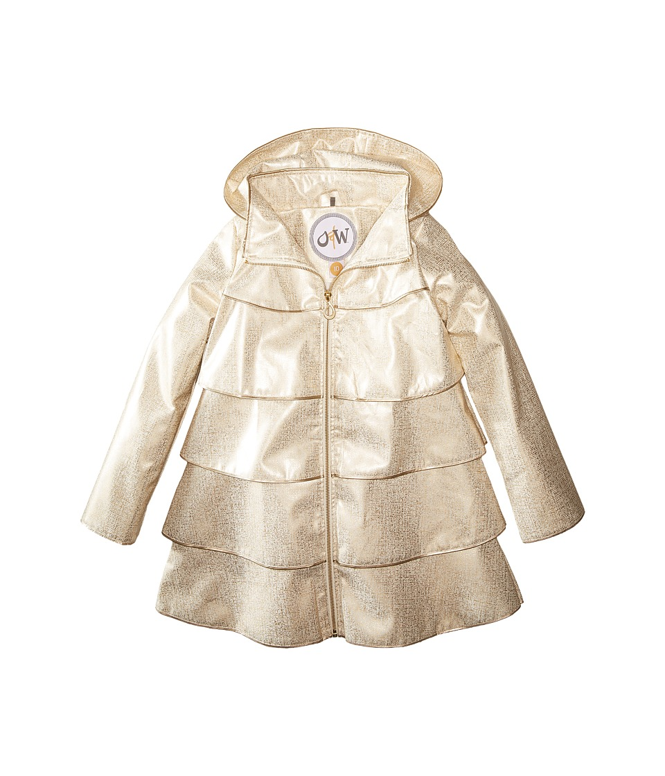 Oil & Water - Opera Coat (Toddler/Little Kids/Big Kids) (B. White) Girl's Coat