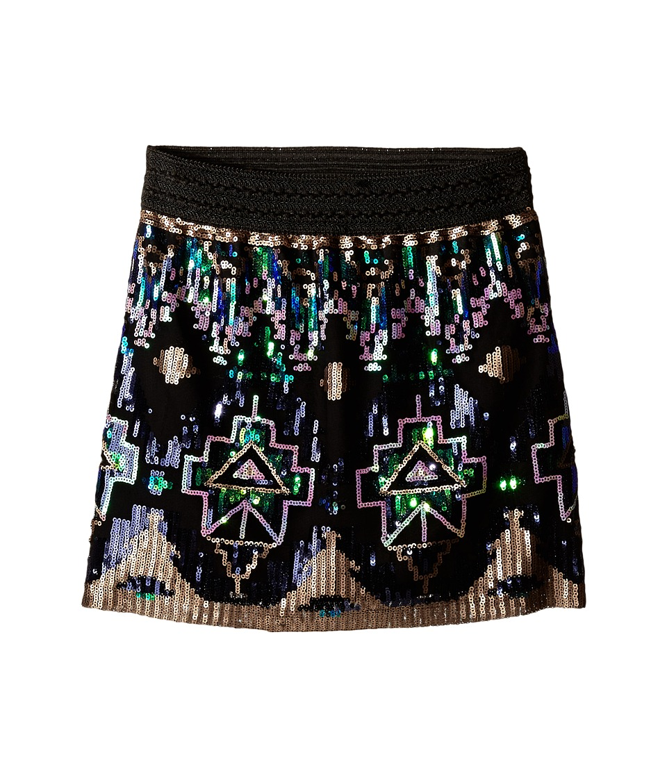 Marciano Kids - Sequins Skirt (Big Kids) (Multi) Girl