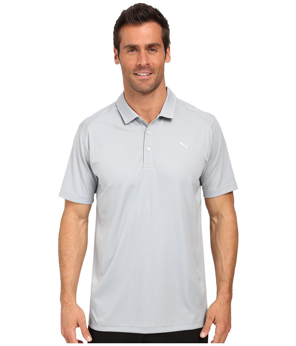 PUMA Golf - ESS Pounce Polo (Quarry) Men's Clothing