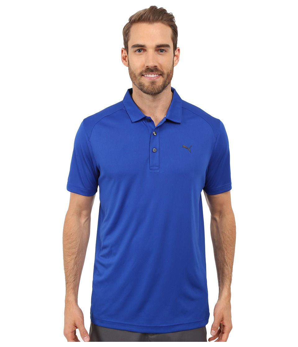 PUMA Golf - ESS Pounce Polo (Surf the Web) Men's Clothing