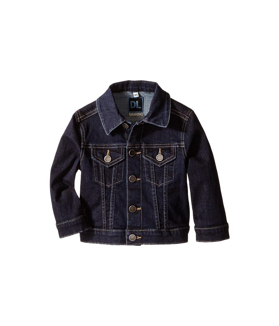 DL1961 Kids - Manning Jacket (Toddler/Little Kids) (Pitch) Girl