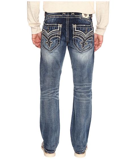 Rock Revival - Dorsett J205 in Medium Blue (Medium Blue) Men's Jeans