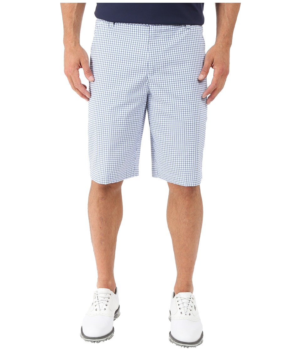 PUMA Golf - Plaid Shorts (Omphalodes) Men's Shorts