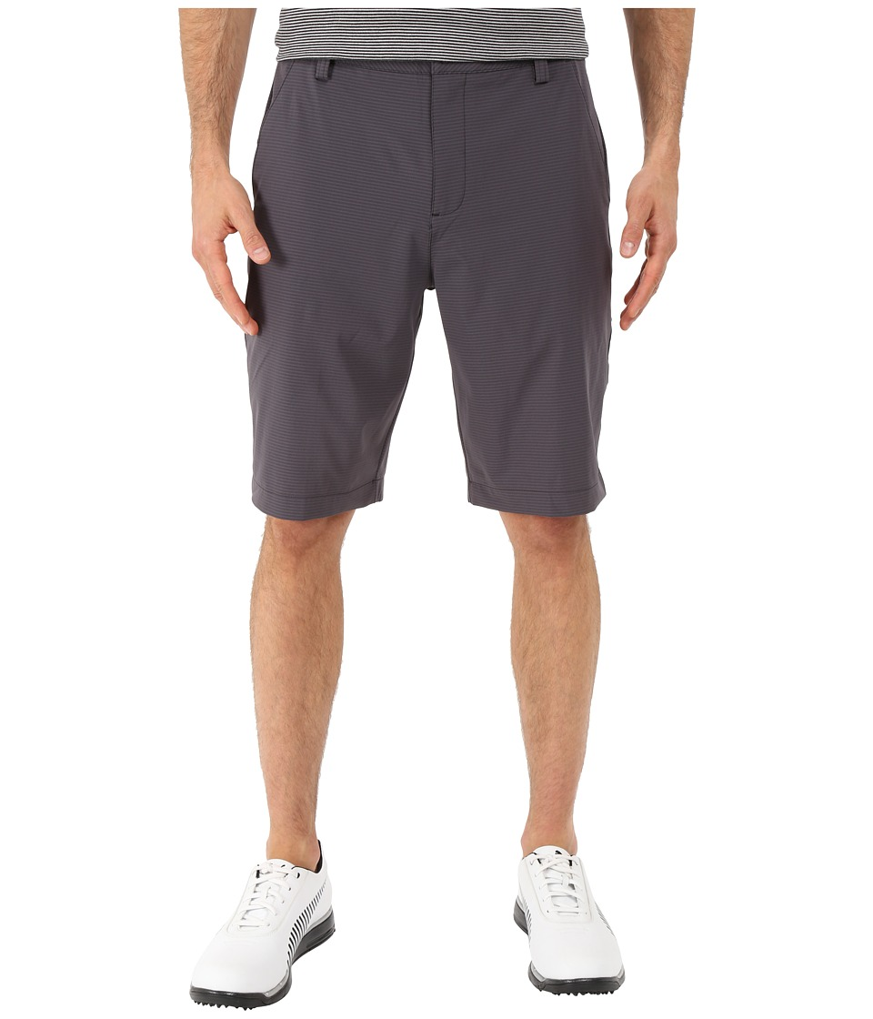 PUMA Golf - Stripe It Shorts (Black) Men's Shorts