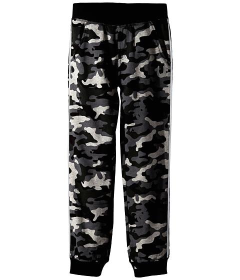 True Religion Kids - Camo French Terry Pants (Big Kids) (Grey Camo) Boy's Casual Pants