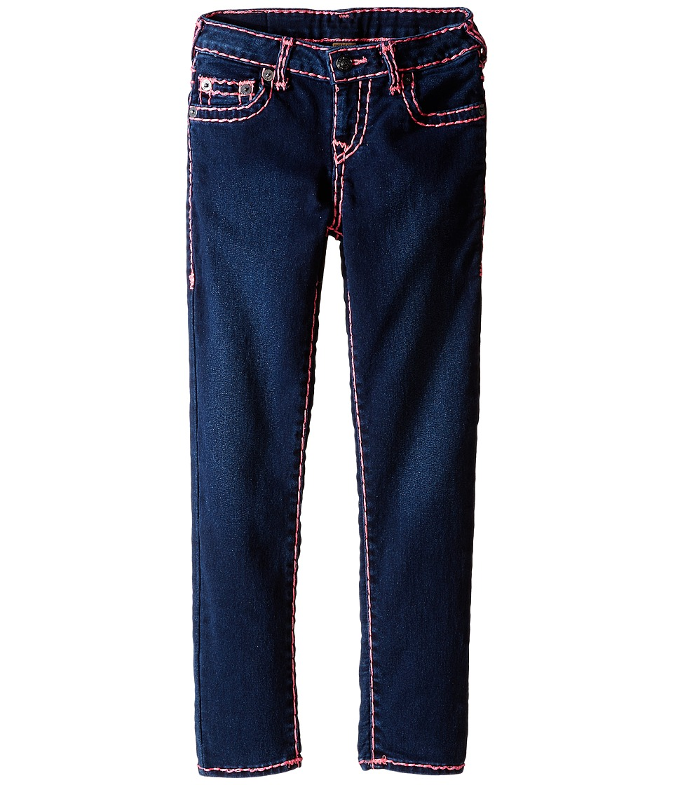 True Religion Kids - Casey Fuschia Super T Jeans in Lightning Blue (Big Kids) (Lightning Blue) Girl's Jeans