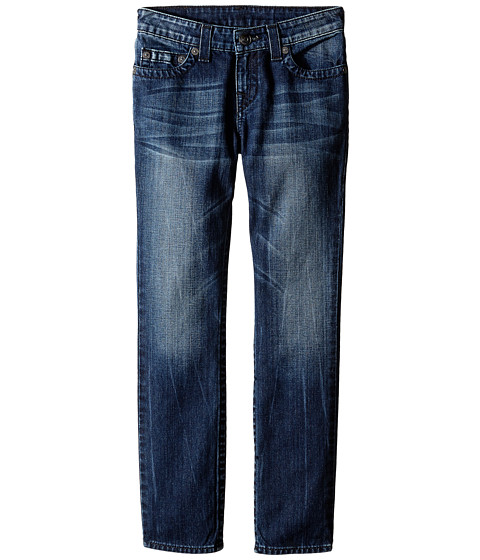 True Religion Kids - Geno Indig-Black Single End Jeans in Electric Blue (Big Kids) (Electric Blue) Boy