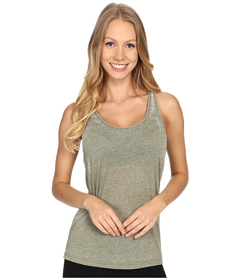 Reebok - Studio Favorites Burnout Tank Top (Canopy Green) Women's Sleeveless