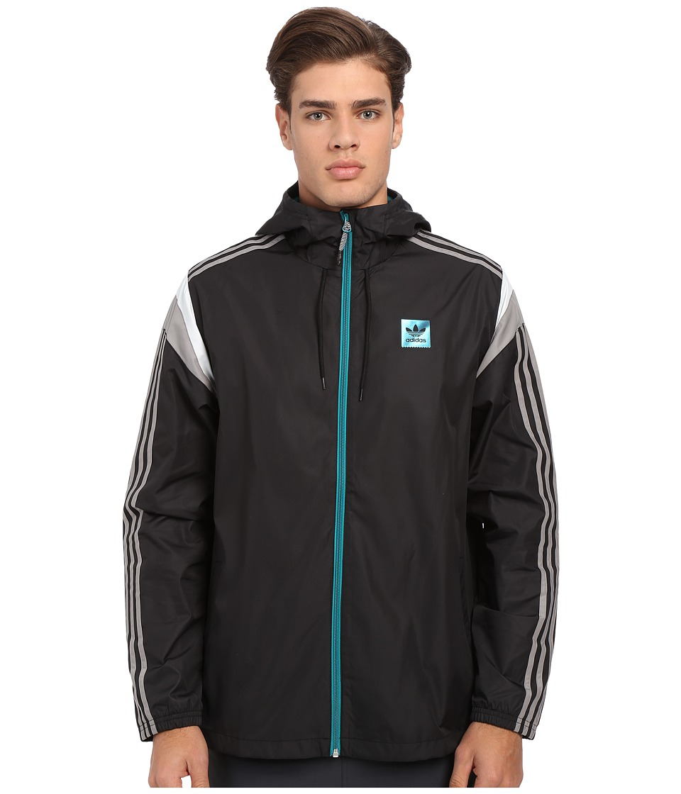 adidas Skateboarding - Rider Wind Jacket 2.0 (Black) Men's Jacket