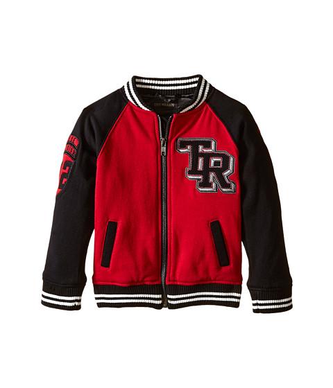 True Religion Kids - Varsity Jacket (Toddler/Little Kids) (Chili Pepper Red) Boy