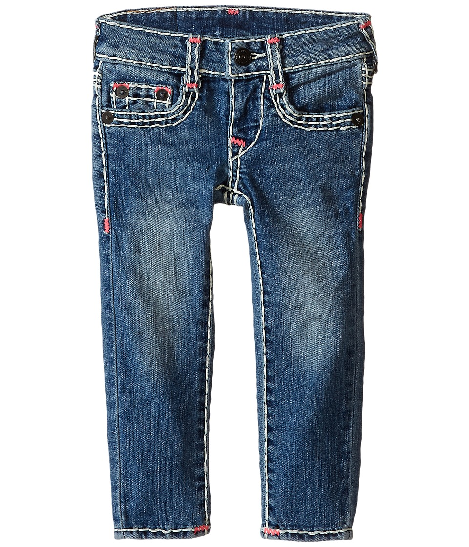 True Religion Kids - Natural Super T Casey Skinny Jeans in Northern Light (Toddler/Little Kids) (Northern Light) Girl's Jeans