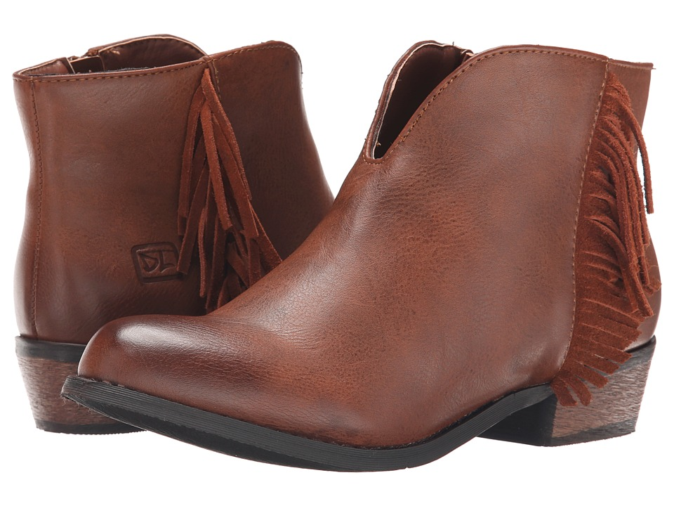 Dirty Laundry - Chitchat (Cognac) Women's Zip Boots