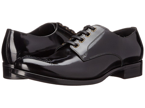 Dolce & Gabbana - Derby (Black) Men's Lace up casual Shoes