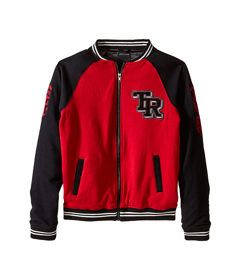 True Religion Kids - Varsity Jacket (Big Kids) (Chili Pepper Red) Boy's Coat