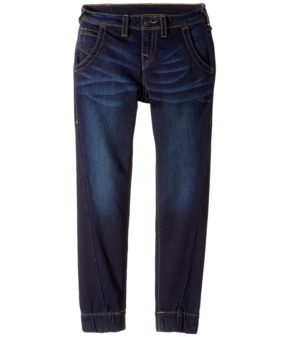 True Religion Kids - Indigo French Terry Pants (Big Kids) (Medium Indigo) Boy's Casual Pants