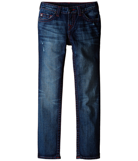 True Religion Kids - Geno Chili Pepper Single End Jeans in Garage Rookie (Big Kids) (Garage Rookie) Boy
