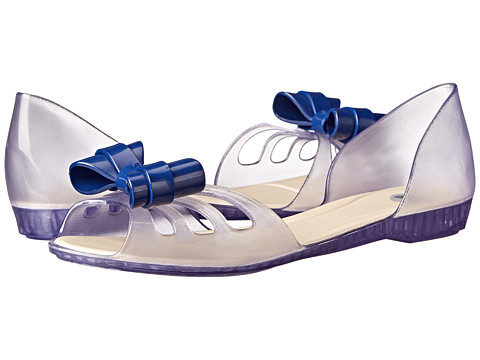 Mel by Melissa - Mel Move Bow (Clear Blue) Women's Shoes