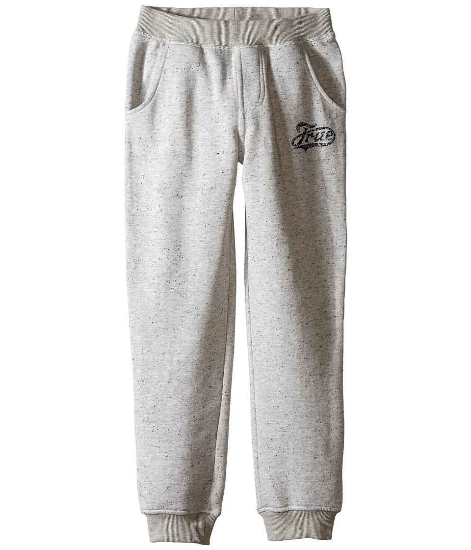 True Religion Kids - Fleece Sweatpants (Big Kids) (Heather Grey) Boy's Casual Pants