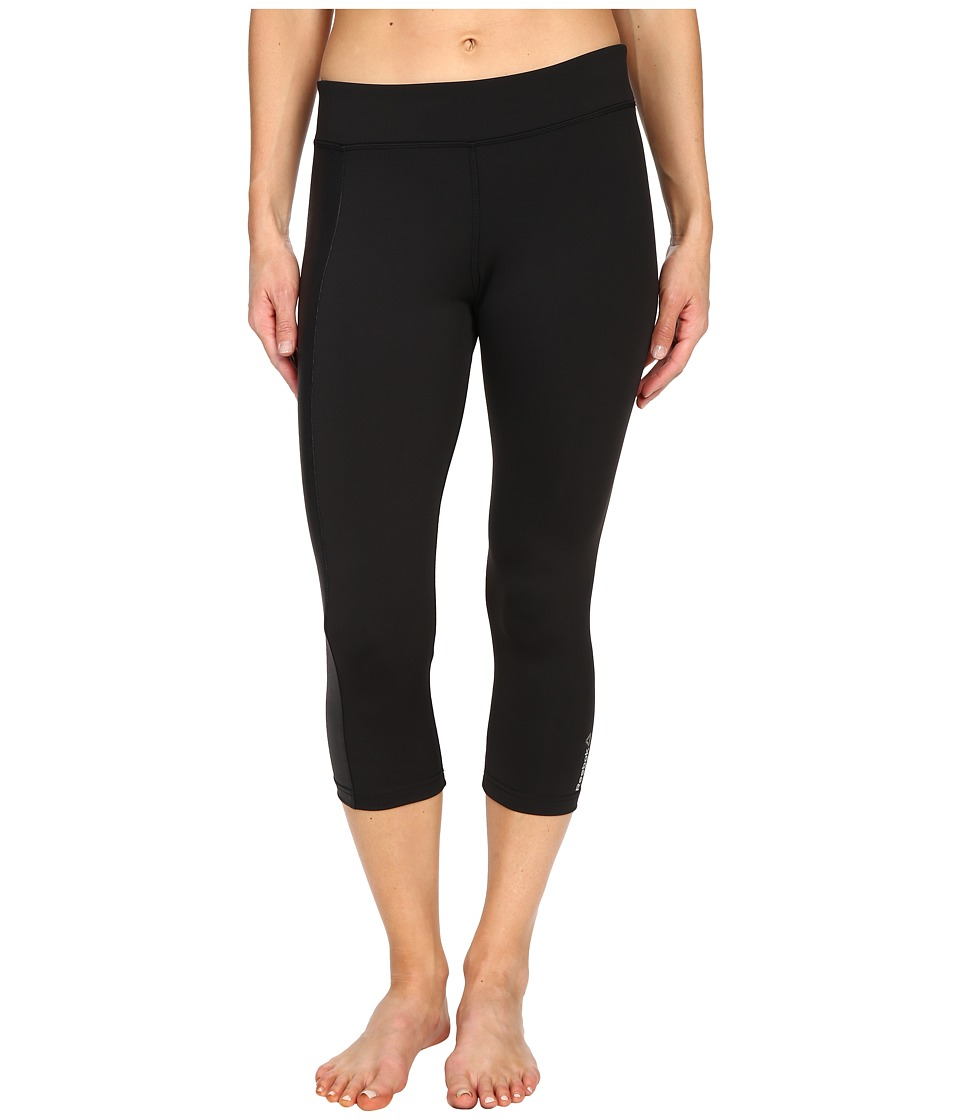 Reebok - Dance Fitted Capris (Black) Women's Capri