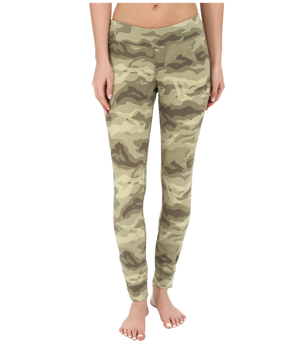 Reebok - One Series Camo Tights (Canopy Green) Women's Casual Pants