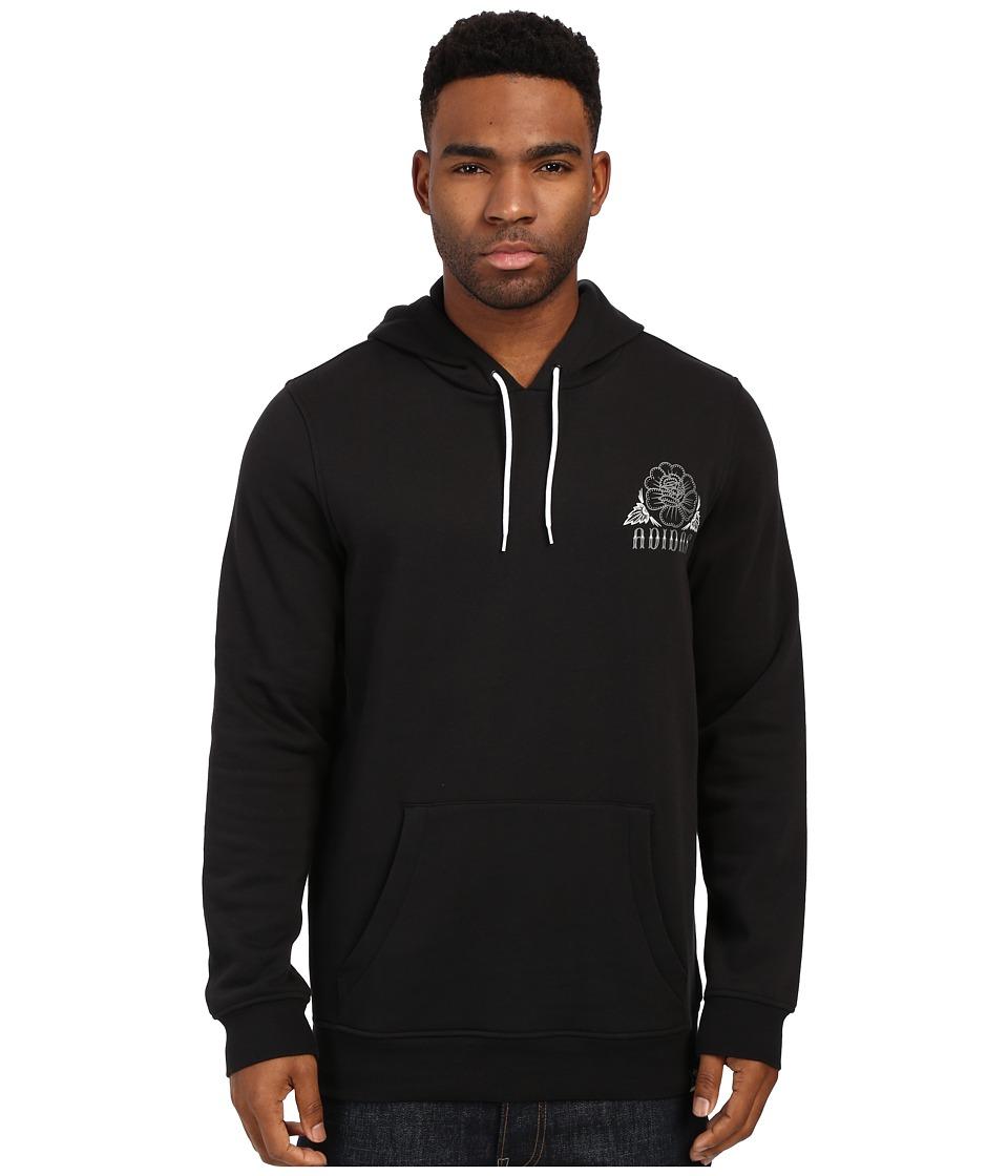 adidas Skateboarding - Blackbird Paisley Hoodie (Black) Men's Sweatshirt