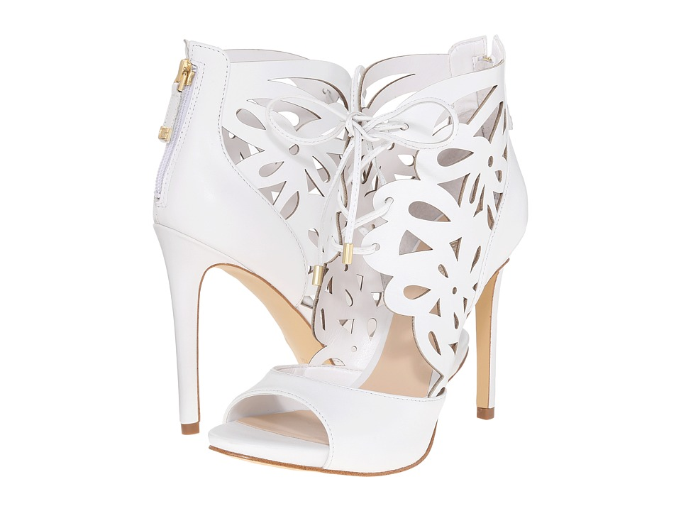 GUESS - Anny (White Leather) High Heels