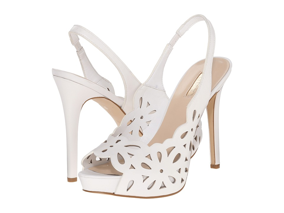 GUESS - Hyee (White Leather) High Heels