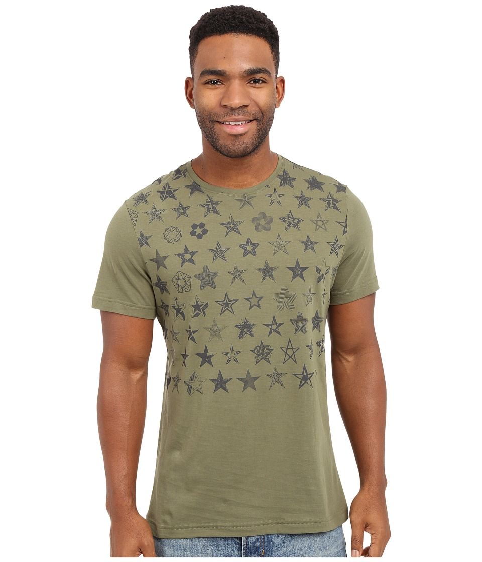 Reebok - 50 Stars Graphic Tee (Canopy Green) Men's T Shirt
