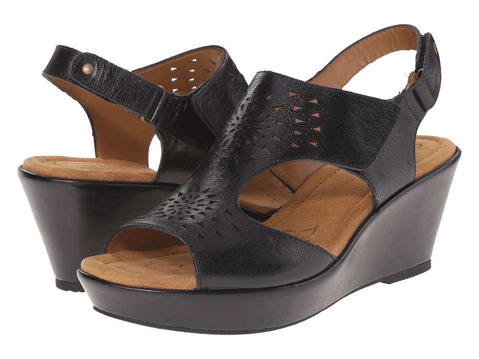 Comfortiva - Rainer (Black Montana) Women's Wedge Shoes