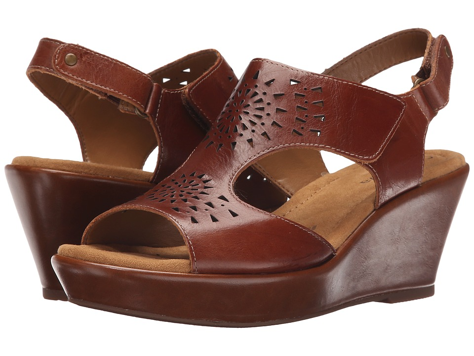 Comfortiva - Rainer (Luggage Montana) Women's Wedge Shoes