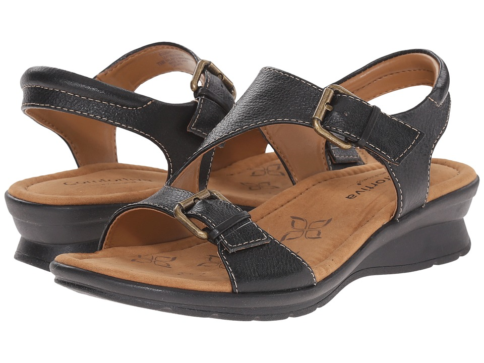 Comfortiva - Kay (Black Calf Ionic) Women's Sandals
