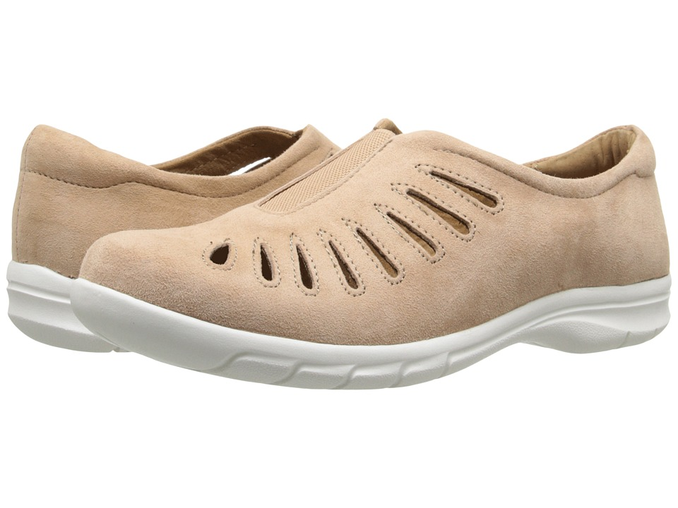 Comfortiva - Tinsley (Mink King Suede) Women's Slip on Shoes