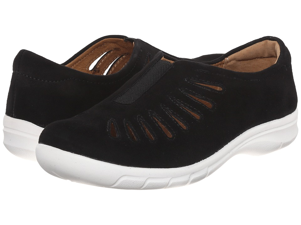 Comfortiva - Tinsley (Black King Suede) Women's Slip on Shoes