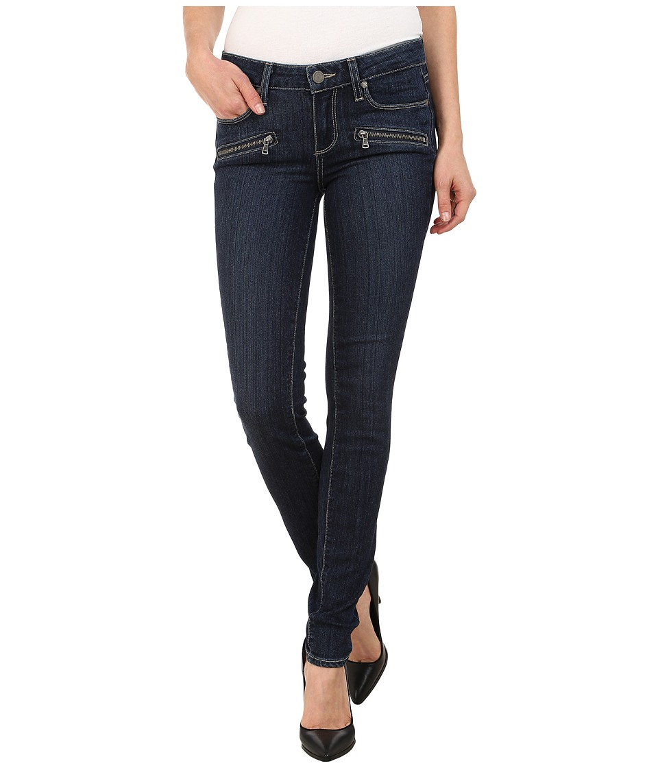 Paige - Indio Zip Ultra Skinny Jeans in Elia No Whiskers (Elia No Whiskers) Women's Jeans