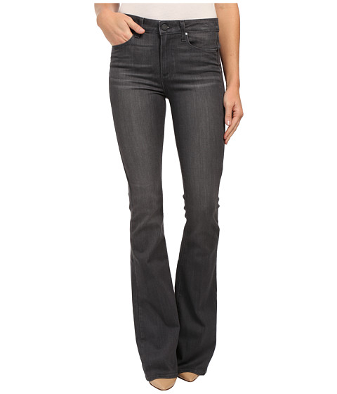 Paige - High Rise Bell Canyon Jeans in Luna Grey (Luna Grey) Women's Jeans