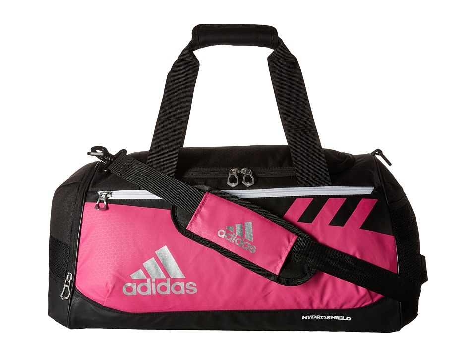 adidas - Team Issue Small Duffel (Intense Pink) Duffel Bags