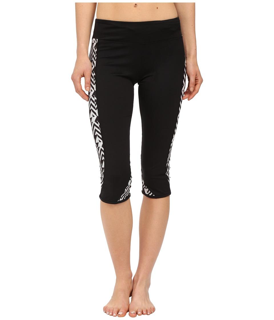 Hurley - Dri-Fit Crop Leggings (White) Women's Workout