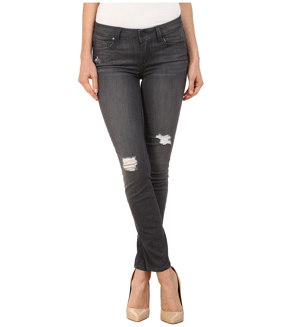 Paige - Verdugo Ankle Jeans in Luna Grey Destructed (Luna Grey Destructed) Women's Jeans