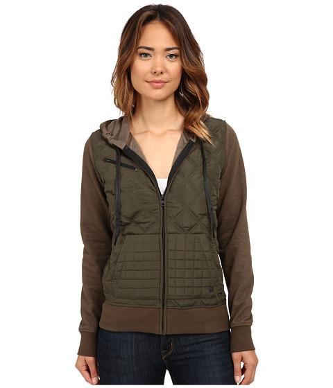 Hurley - Rocky Jacket (Cargo Khaki) Women's Sweatshirt