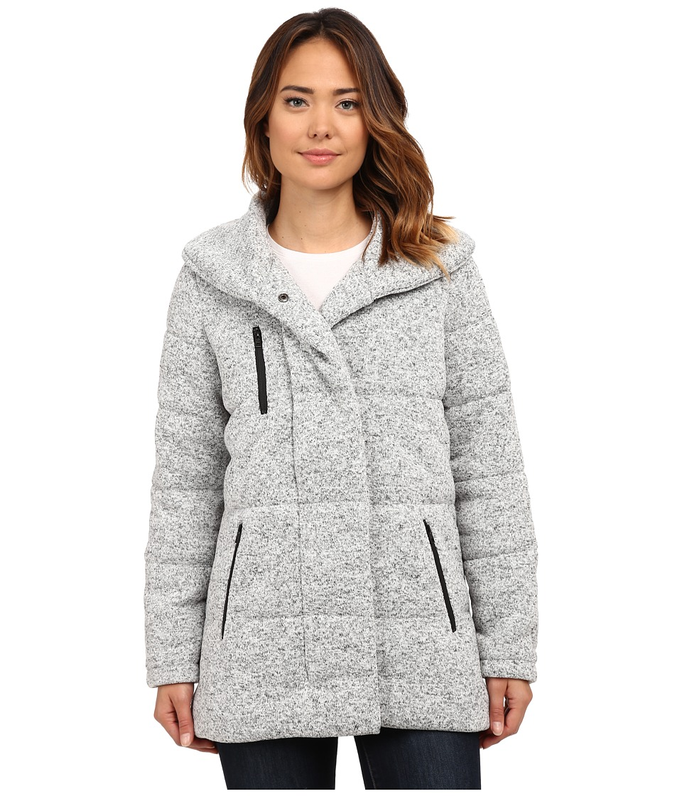 Hurley - Augustine Puffer Jacket (Heather Cool Grey) Women's Coat