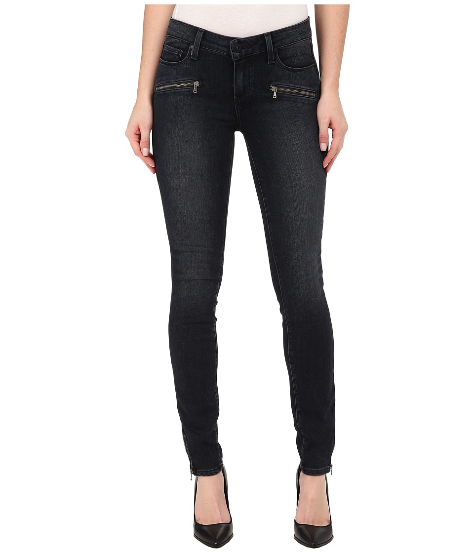 Paige - Jill Zip Ultra Skinny Jeans in Reed No Whiskers (Reed No Whiskers) Women